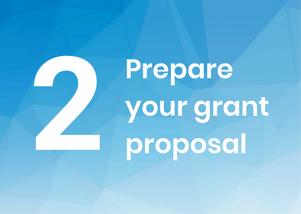 2. Prepare your grant proposal